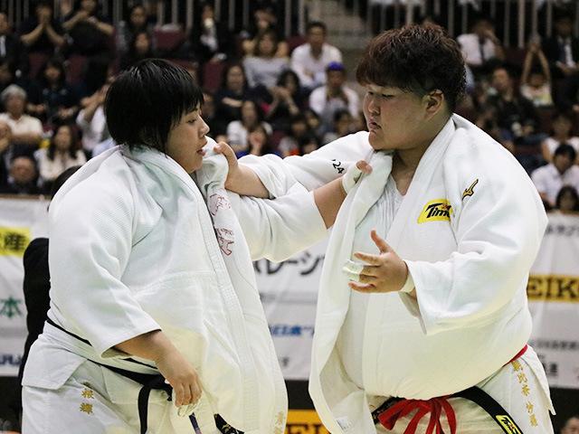 第33回皇后盃全日本女子柔道選手権大会 準決勝戦 素根輝 vs 朝比奈沙羅