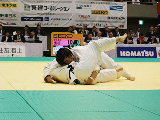 第33回皇后盃全日本女子柔道選手権大会 2回戦 素根輝 vs 小山内菜緒�A
