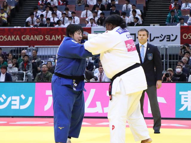 柔道グランドスラム大阪2019 女子78kg超級 決勝戦 素根輝 vs I.ORTIZ�@