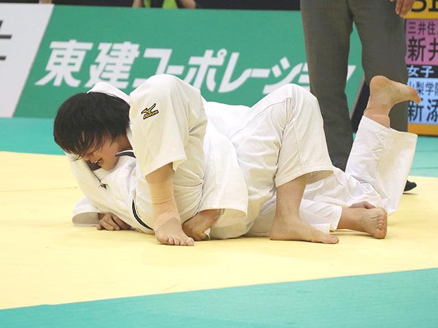 平成30年全日本選抜柔道体重別選手権大会 女子70kg級 決勝戦 新井千鶴 vs 新添左季�A