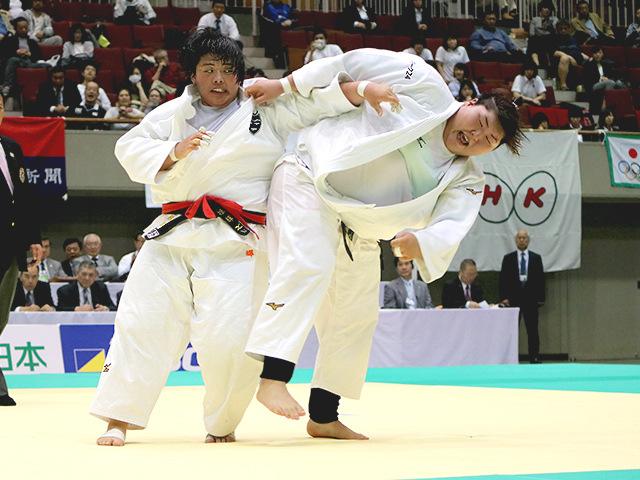 第34回皇后盃全日本女子柔道選手権大会 決勝戦 素根輝 vs 朝比奈沙羅�B