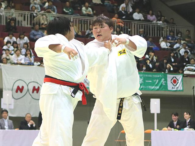 第34回皇后盃全日本女子柔道選手権大会 決勝戦 素根輝 vs 朝比奈沙羅�E