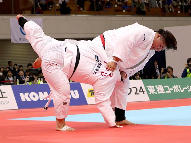 平成31年全日本選抜柔道体重別選手権大会 女子78kg超級 決勝戦 朝比奈沙羅 vs 素根輝�B