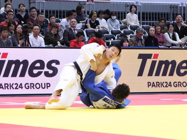 柔道グランドスラム大阪2019 男子81kg級 2回戦 藤原崇太郎 vs P.PERCIVAL�A