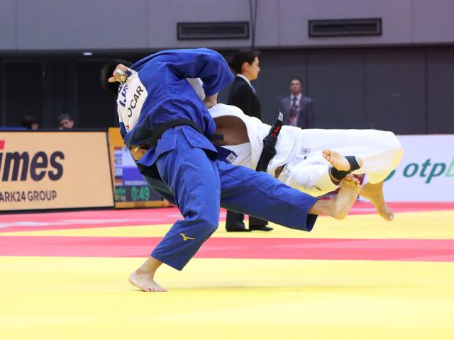 柔道グランドスラム大阪2019 男子81kg級 準々決勝 藤原崇太郎 vs S.MOLLAEI