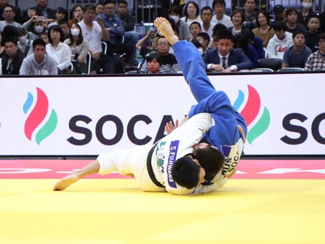 柔道グランドスラム大阪2019 男子81kg級 準決勝戦 藤原崇太郎 vs T.TEPKAEV�A