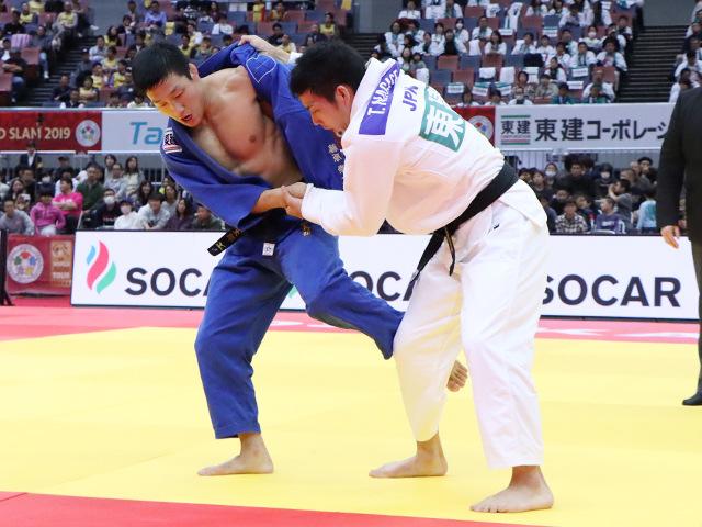 柔道グランドスラム大阪2019 男子81kg級 決勝戦 藤原崇太郎 vs 永瀬貴規
