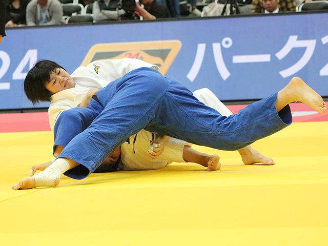 柔道グランドスラム大阪2018 女子78kg級 準々決勝 濱田尚里 vs J.LEE�@