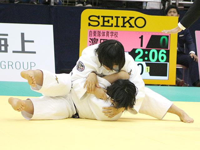 平成30年全日本選抜柔道体重別選手権大会 女子78kg級 準決勝戦 濱田尚里 vs 和田梨乃子�B