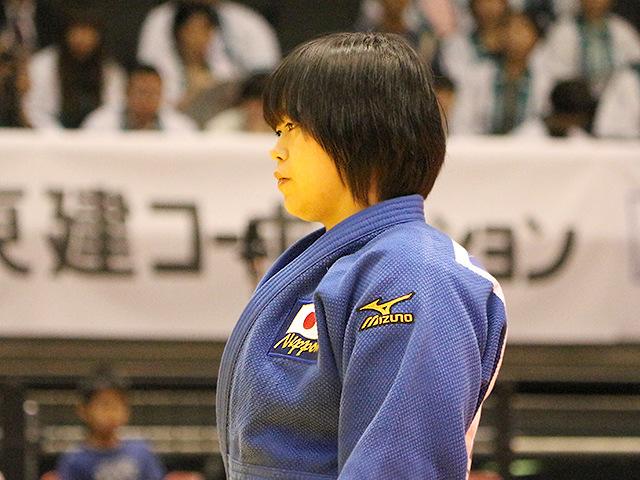 柔道グランドスラム東京2017 女子78kg級 1回戦 濱田尚里 vs Y.MAYERSOHN�@