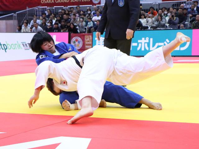 柔道グランドスラム大阪2019 女子78kg級 決勝戦 濱田尚里 vs 梅木真美�@