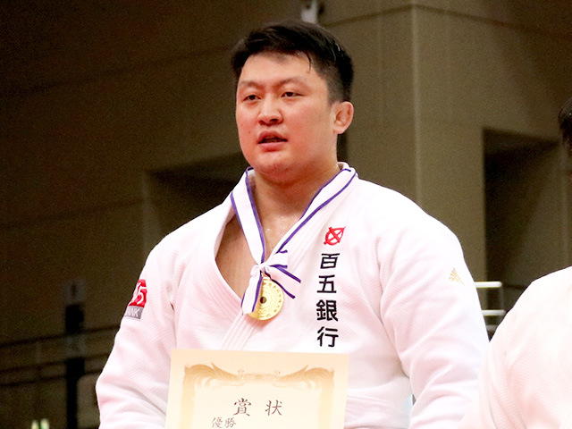 2019年全日本選抜柔道体重別選手権大会 表彰式