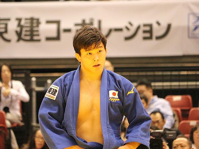 柔道グランドスラム東京2017 男子90kg級 2回戦 向翔一郎 vs A.KUKOLJ�A