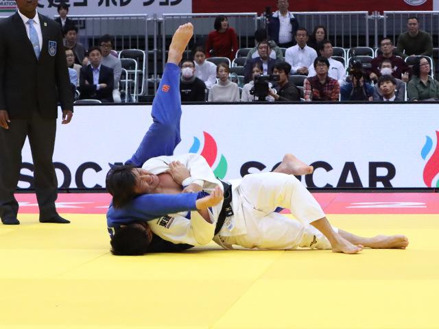 柔道グランドスラム大阪2019 男子90kg級 2回戦 向翔一郎 vs A.GANTULGA