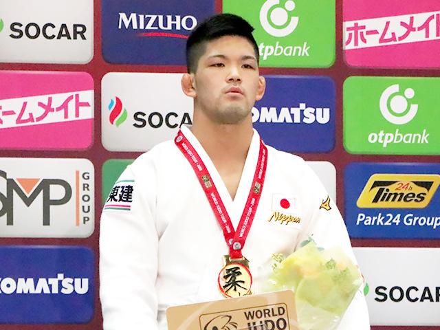 柔道グランドスラム大阪2018 表彰式