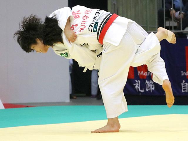 平成29年全日本選抜柔道体重別選手権大会 女子52kg級 準決勝戦 阿部詩 vs 志々目愛
