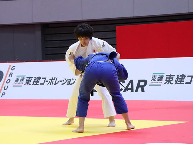 柔道グランドスラム大阪2019 女子52kg級 2回戦 志々目愛 vs C.BLANARU