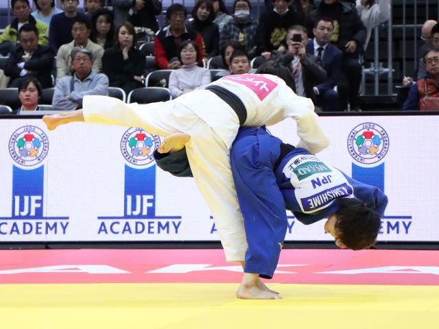 柔道グランドスラム大阪2019 女子52kg級 準決勝戦 志々目愛 vs 阿部詩�A