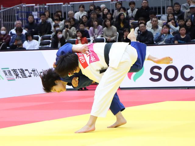 柔道グランドスラム大阪2019 女子52kg級 準決勝戦 志々目愛 vs 阿部詩�B
