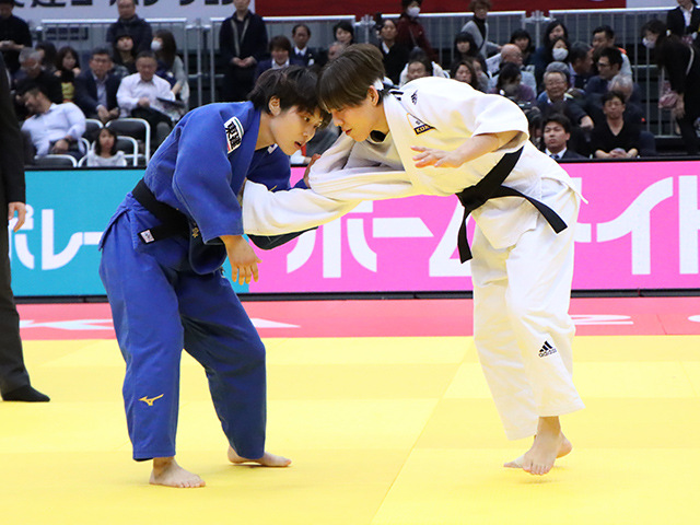柔道グランドスラム大阪2019 女子52kg級 3位決定戦 志々目愛 vs D.PARK�@