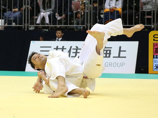 平成29年全日本選抜柔道体重別選手権大会 男子60kg級 準決勝戦 高藤直寿 vs 米村克麻�A