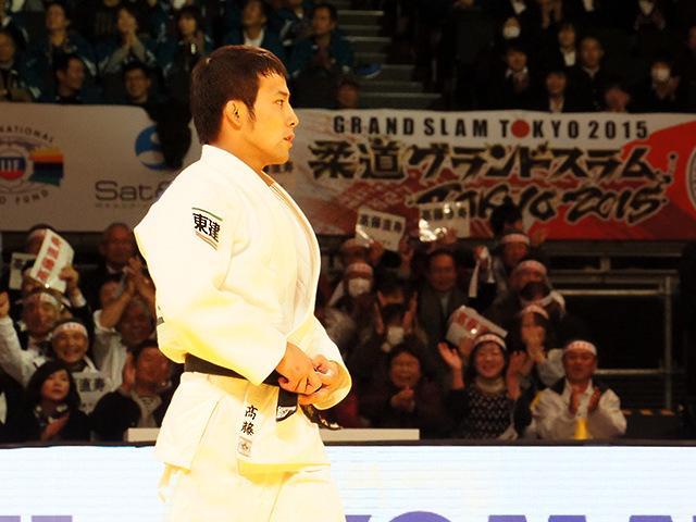 柔道グランドスラム東京2015 男子60kg級 決勝戦 高藤直寿 vs B.MUDRANOV�A
