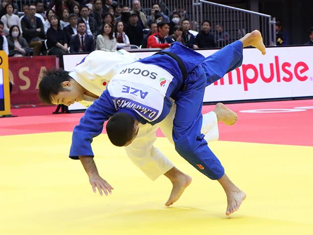 柔道グランドスラム大阪2019 男子60kg級 3回戦 高藤直寿 vs D.MAMMADSOY