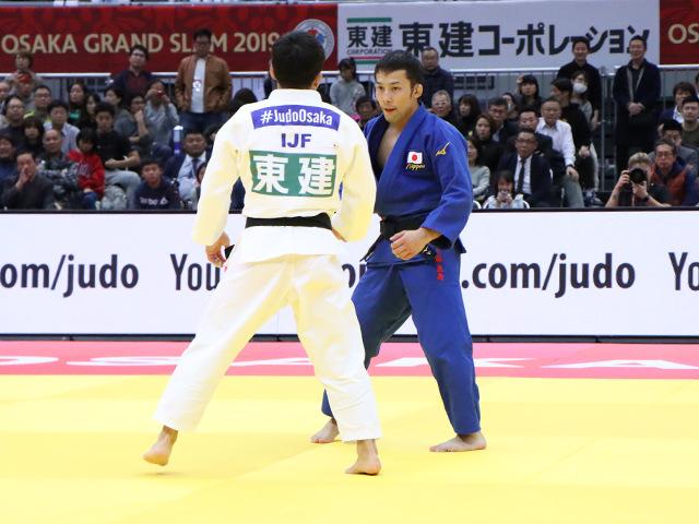 柔道グランドスラム大阪2019 男子60kg級 決勝戦 高藤直寿 vs 永山竜樹�@