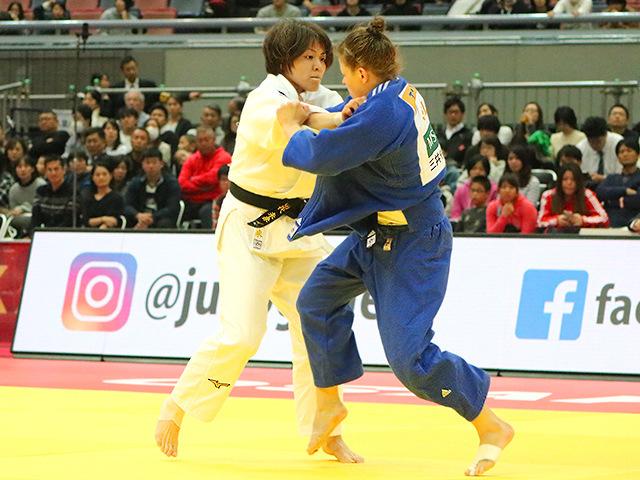 柔道グランドスラム大阪2018 女子63kg級 3位決定戦 田代未来 vs T.TRSTENJAK�A
