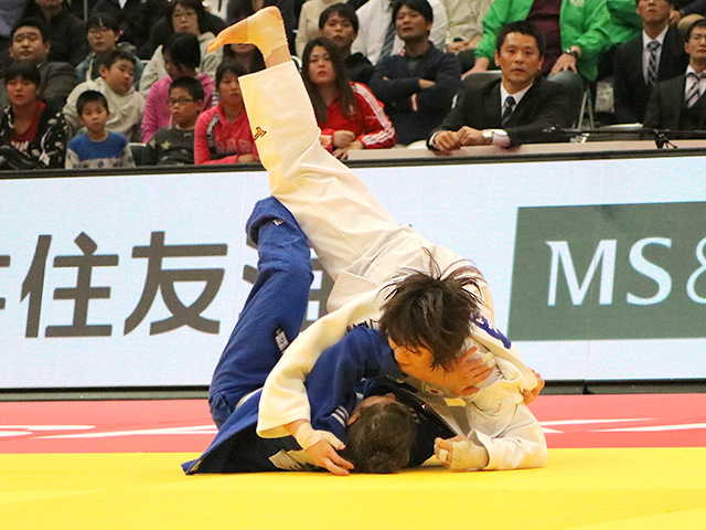 柔道グランドスラム大阪2018 女子63kg級 3位決定戦 田代未来 vs T.TRSTENJAK�C