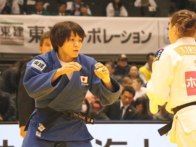 柔道グランドスラム東京2017 女子63kg級 準決勝戦 田代未来 vs T.TRSTENJAK