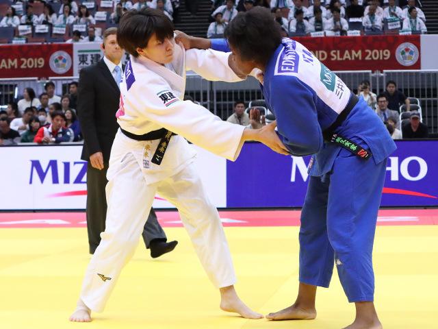 柔道グランドスラム大阪2019 女子63kg級 2回戦 田代未来 vs E.GWEND�@