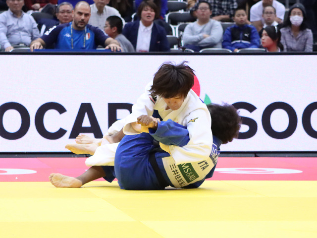 柔道グランドスラム大阪2019 女子63kg級 2回戦 田代未来 vs E.GWEND�A