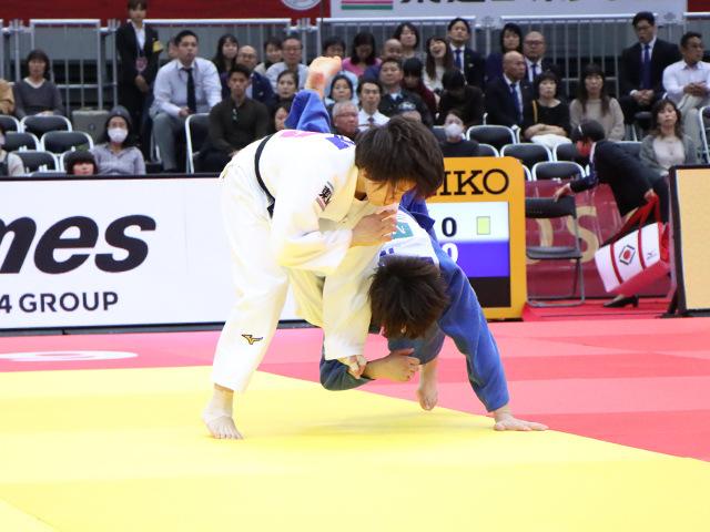 柔道グランドスラム大阪2019 女子63kg級 準決勝戦 田代未来 vs 土井雅子