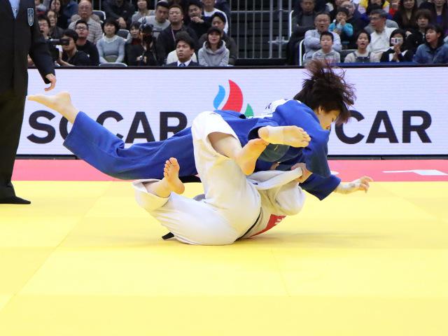 柔道グランドスラム大阪2019 女子63kg級 3位決定戦 田代未来 vs H.HAN�A