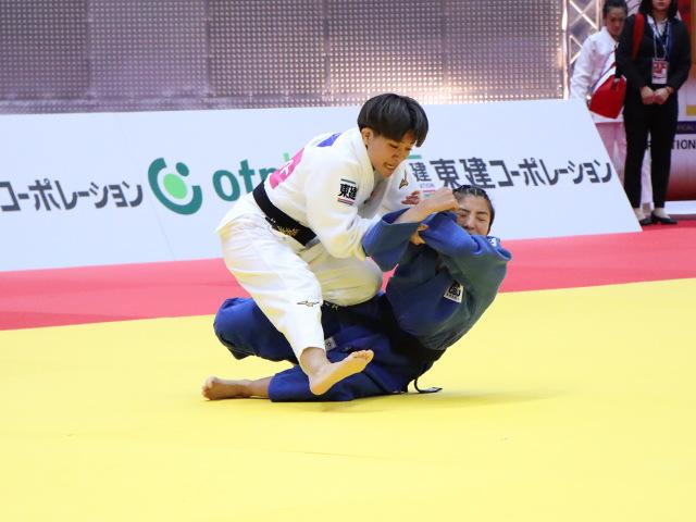 柔道グランドスラム大阪2019 女子48kg級 2回戦 渡名喜風南 vs G.CHIBANA�@