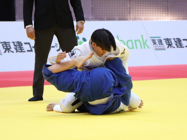 柔道グランドスラム大阪2019 女子48kg級 2回戦 渡名喜風南 vs G.CHIBANA�A