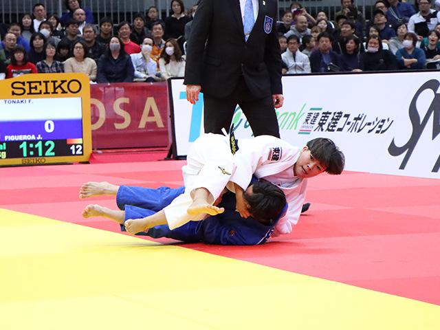 柔道グランドスラム大阪2019 女子48kg級 決勝戦 渡名喜風南 vs J.FIGUEROA