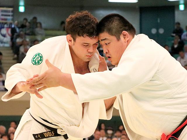 平成31年全日本柔道選手権大会 4回戦 王子谷剛志 vs ウルフアロン�B