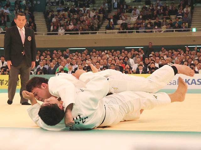 平成31年全日本柔道選手権大会 準決勝戦 ウルフアロン vs 小川雄勢�D