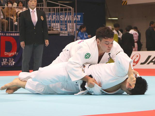 平成31年全日本選抜柔道体重別選手権大会 男子100kg級 1回戦 ウルフアロン vs 伊藤好信