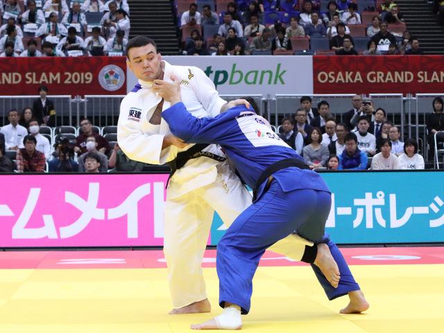 柔道グランドスラム大阪2019 男子100kg級 2回戦 ウルフアロン vs K.REYES�A