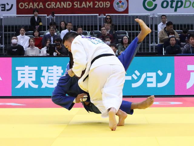 柔道グランドスラム大阪2019 男子100kg級 3回戦 ウルフアロン vs H.SHAH