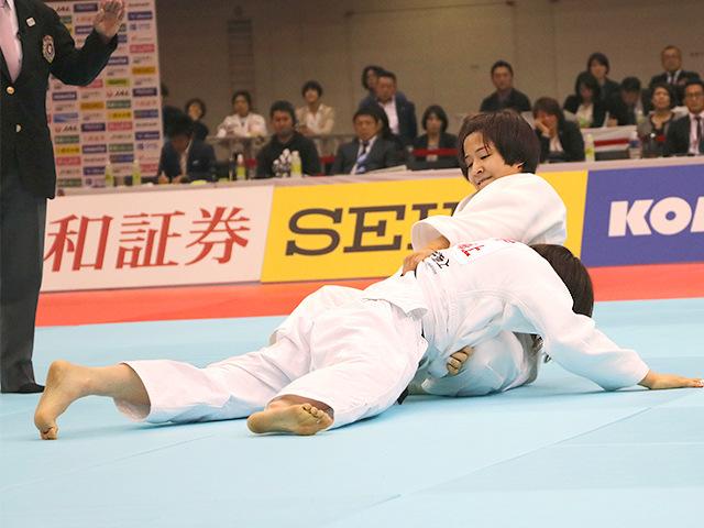 平成31年全日本選抜柔道体重別選手権大会 女子57kg級 決勝戦 芳田司 vs 玉置桃�B