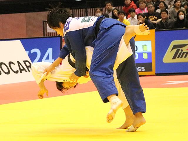 柔道グランドスラム東京2017 女子57kg級 決勝戦 芳田司 vs 山本杏�A