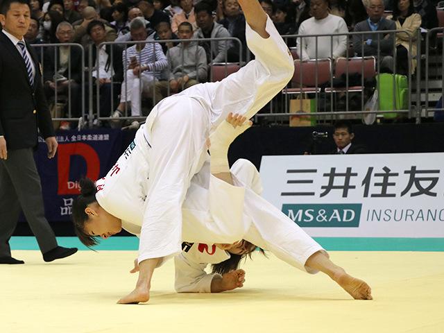 平成29年全日本選抜柔道体重別選手権大会 女子57kg級 1回戦 芳田司 vs 月野珠里�A