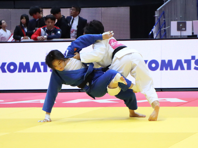 柔道グランドスラム大阪2019 女子57kg級 3回戦 芳田司 vs T.LU�@