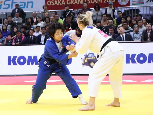 柔道グランドスラム大阪2019 女子57kg級 3位決定戦 芳田司 vs J.KLIMKAIT�A