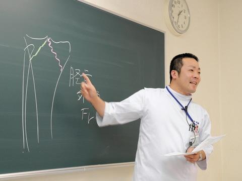 米田柔整専門学校:7月の学校説明会