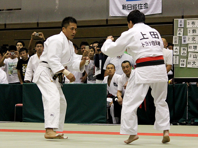 1回戦 野村忠宏vs上田卓�B